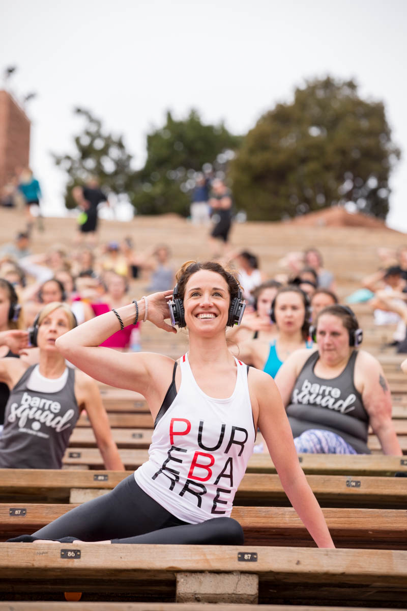 Pure Barre Instructor Lindsey Teets