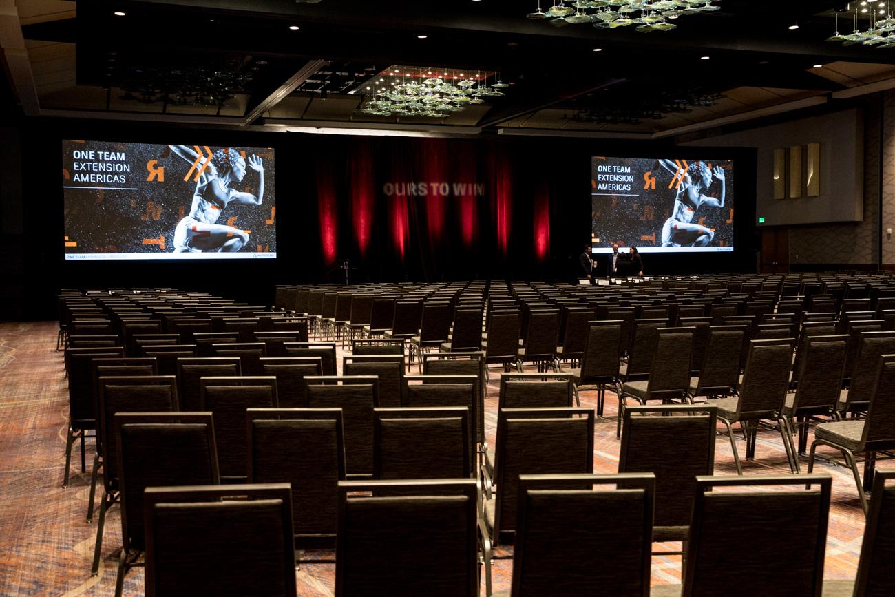 Hyatt regency conference, Denver conference, conference photographer, colorado convention photographer, event photographer, conference Denver, ballroom st up, red up lights