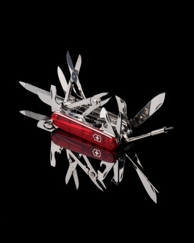 picture of swiss army knife, COMMERCIAL and PRODUCT Photography in Salt Lake City UT